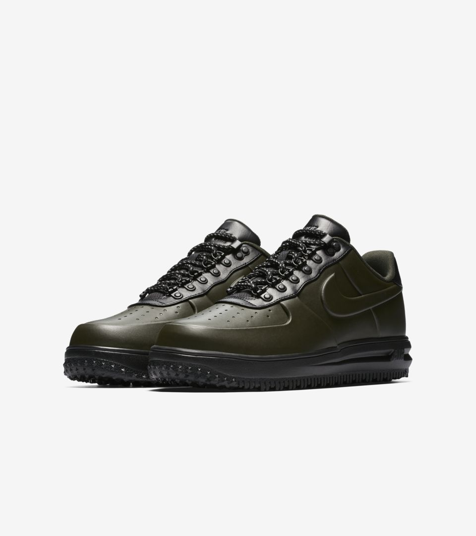 timeless design 6dbd2 c3195 Nike Lunar Force 1 Duckboot Low 'Sequoia and Black' Release ...
