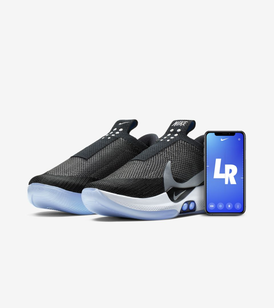 Nike Adapt BB 'Black & White & Pure Platinum' Release Date