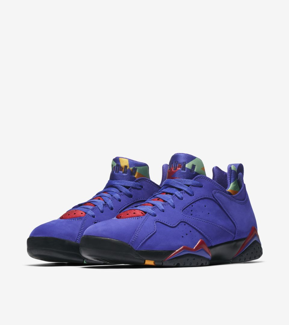 low priced 6e1c3 f6533 Air Jordan VII Low NRG 'Bright Concord' Release Date. Nike⁠+ ...