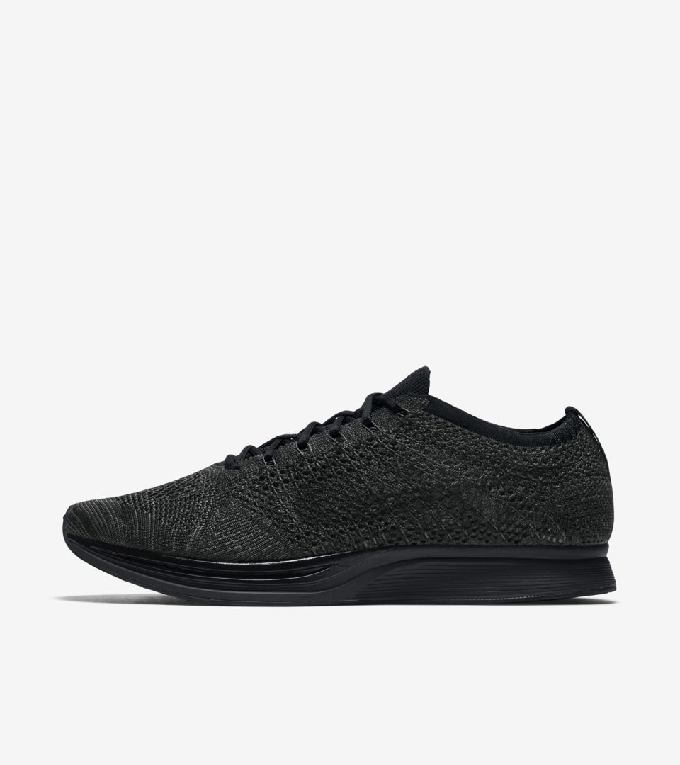 fa44221329a3 ... cheapest nike flyknit racer triple black midnight release date..  nikeu2060 snkrs 7ba9e edfe6