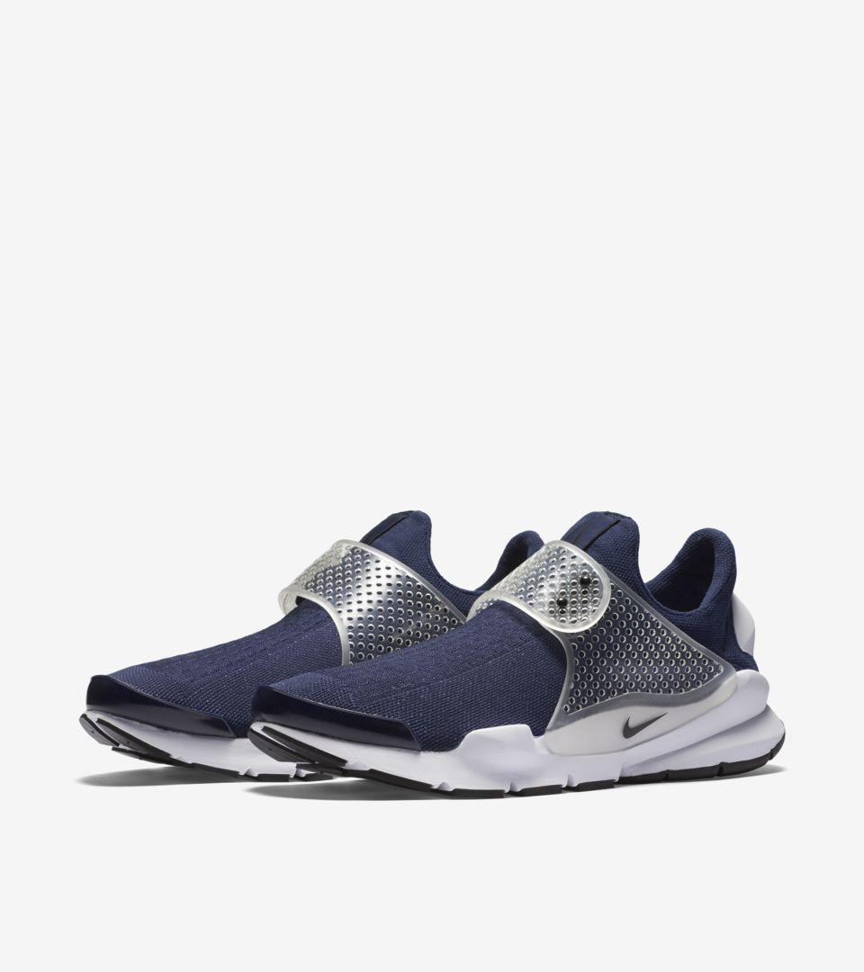Nike Sock Dart  Midnight Navy . Nike+ Launch IE 658b433ad6ae6