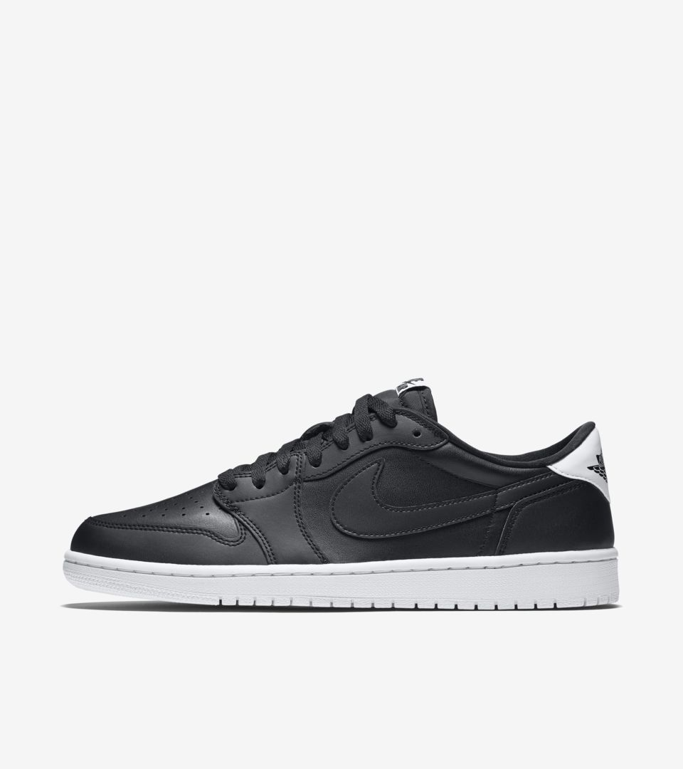 Air Jordan 1 Retro Low OG  Black   White  Release Date. Nike⁠+ SNKRS 932a854a7