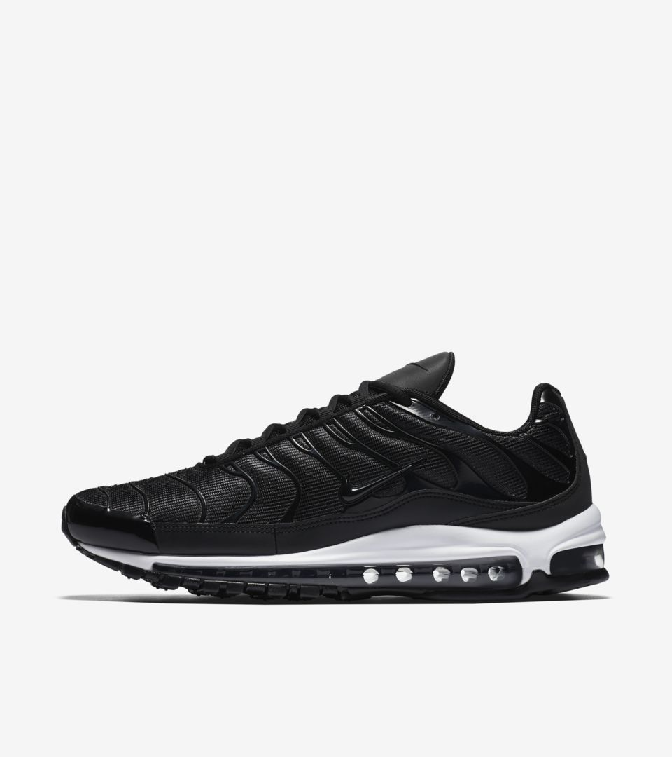 Nike Air Max 97 Plus  Black  amp  White  Release Date. Nike⁠+ Launch GB fc64026b4