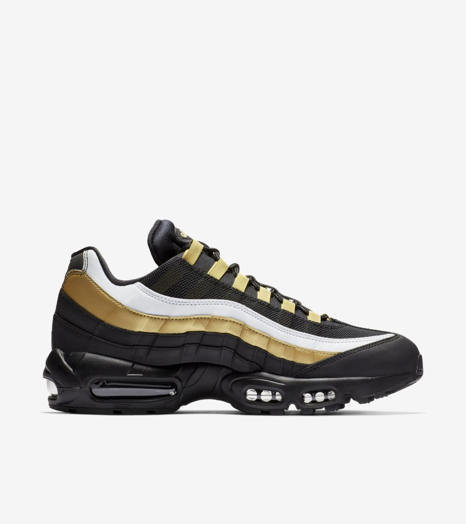 super popular 32f14 97df1 ... Air Max 95 OG Black  Metallic Gold  White ...