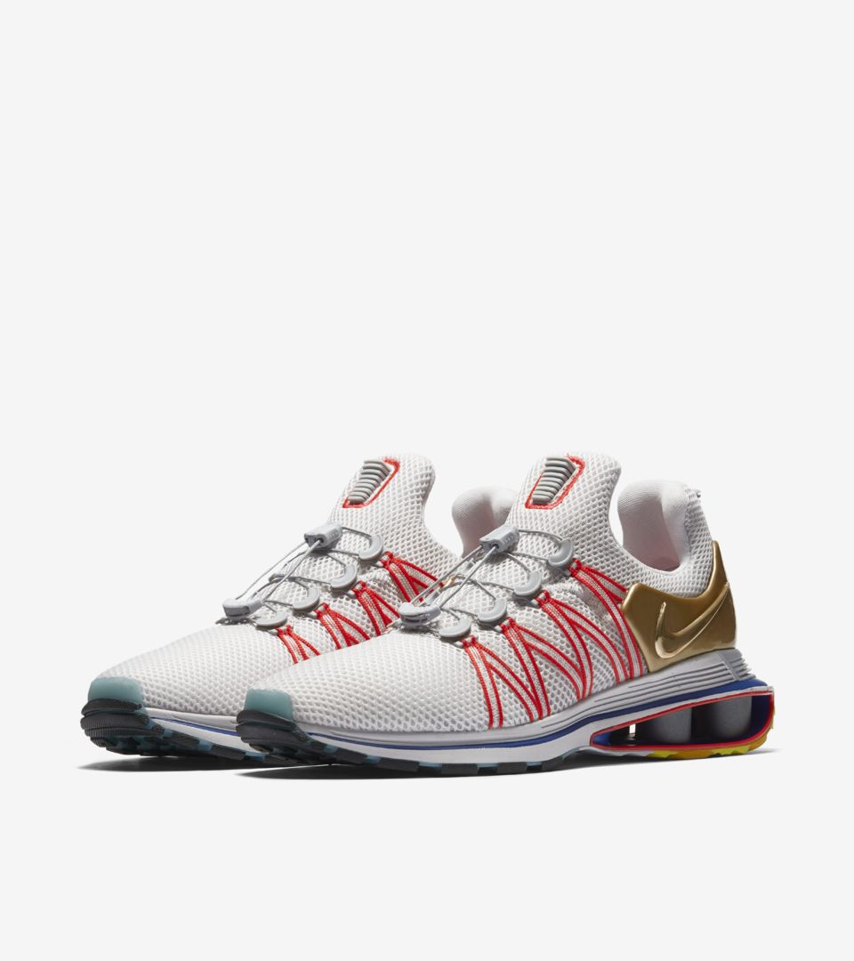 the latest 429d9 4dc69 Nike Shox Gravity  Metallic Gold   Vast Grey  Release Date. Nike⁠+ SNKRS
