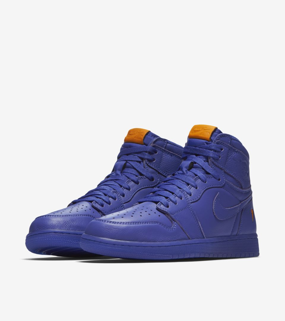 238487dcfc2a Air Jordan 1 High Gatorade  Grape  Release Date. Nike⁠+ SNKRS