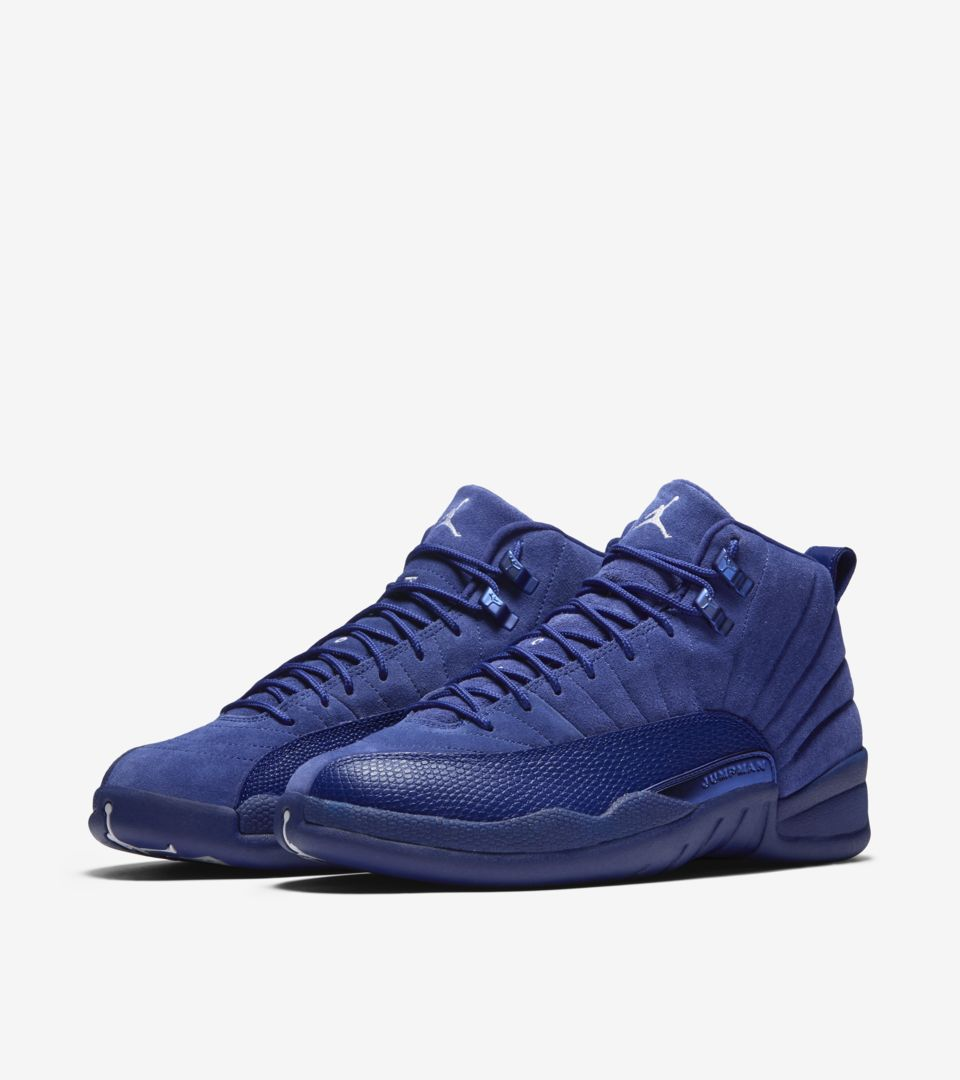 sale retailer eb744 17546 Air Jordan 12 Retro 'Deep Royal Blue'. Release Date. Nike⁠+ ...