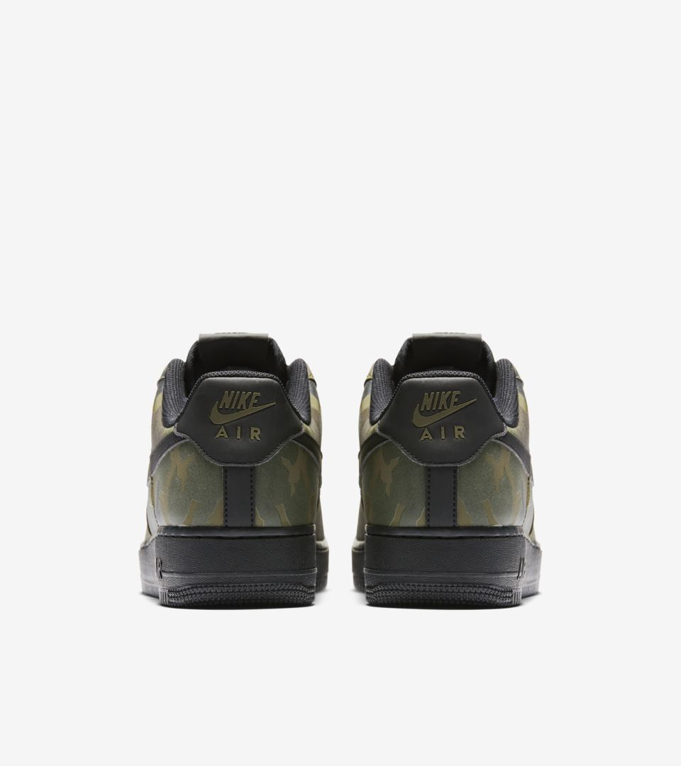 29ef0072e3567 Nike Air Force 1 Low 07 'Medium Olive Camo Reflective' Release Date ...