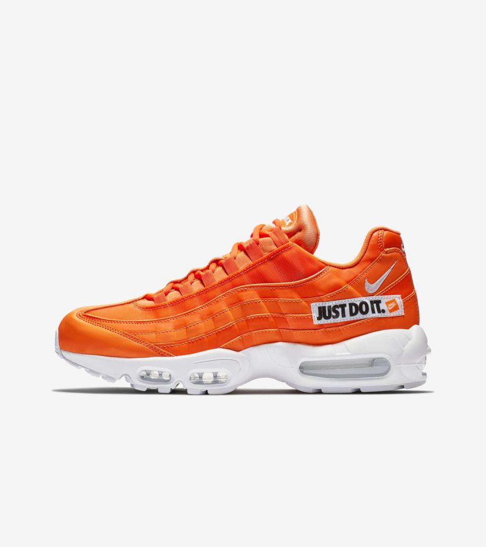 2bc0cdc9da46b Nike Air Max 95 JDI Collection  Total Orange   White  Release Date ...
