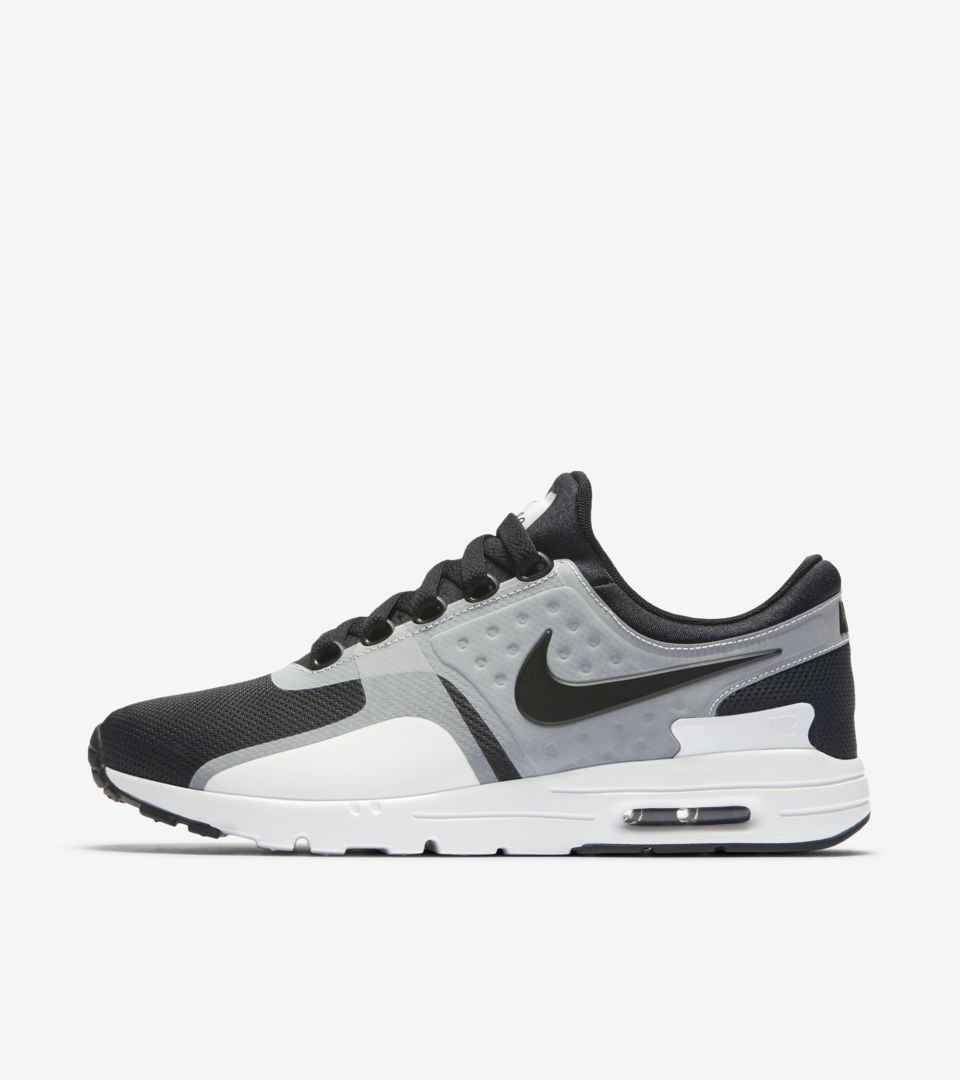 Women s Nike Air Max Zero  White   Black  2016. Nike⁠+ SNKRS 4b8dd1670