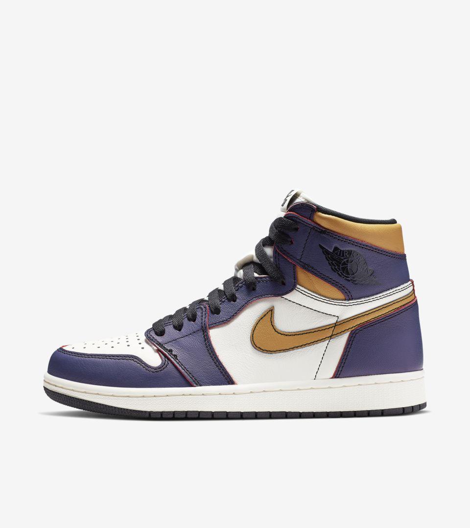 Air Jordan 1 'LA to Chicago'. Nike SNKRS SG