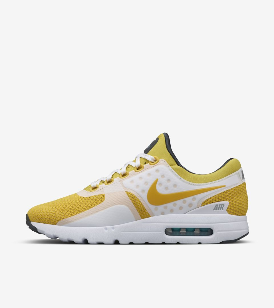 brand new 2830c 74ccf Nike Air Max Zero  Yellow  Release Date. Nike⁠+ SNKRS