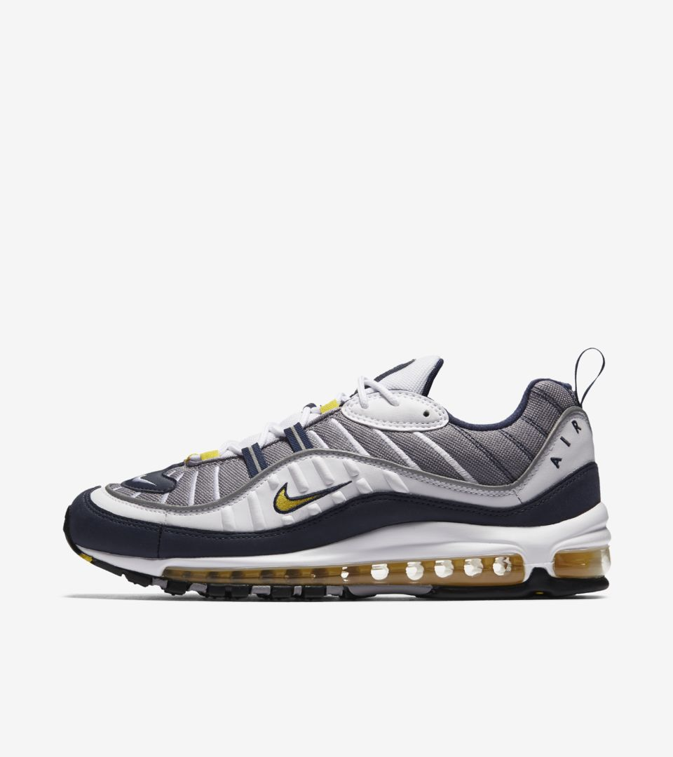 competitive price d6ca8 5659b Nike Air Max 98 'Cone & Tour Yellow' Release Date. Nike⁠+ SNKRS
