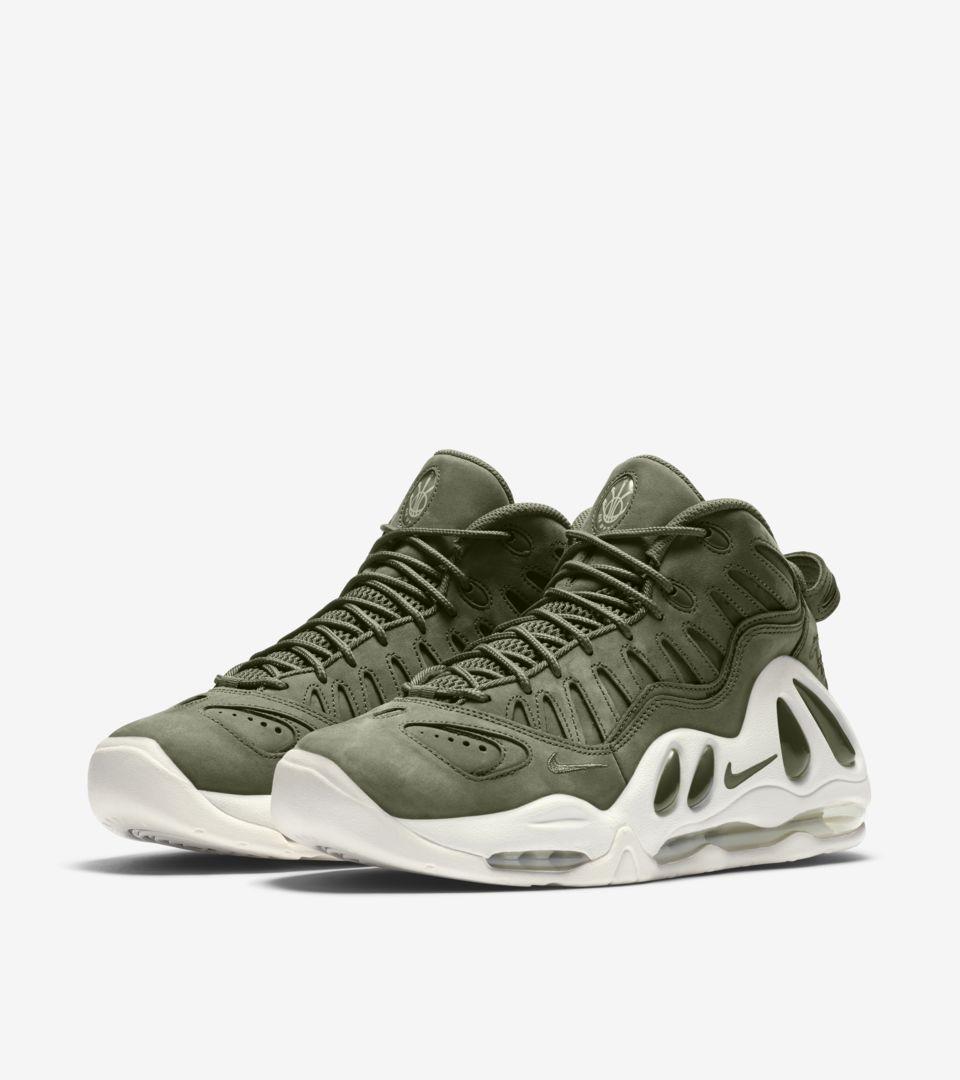 349c7a711099e3 Nike Air Max Uptempo 97 Urban Haze   White . Nike+ SNKRS