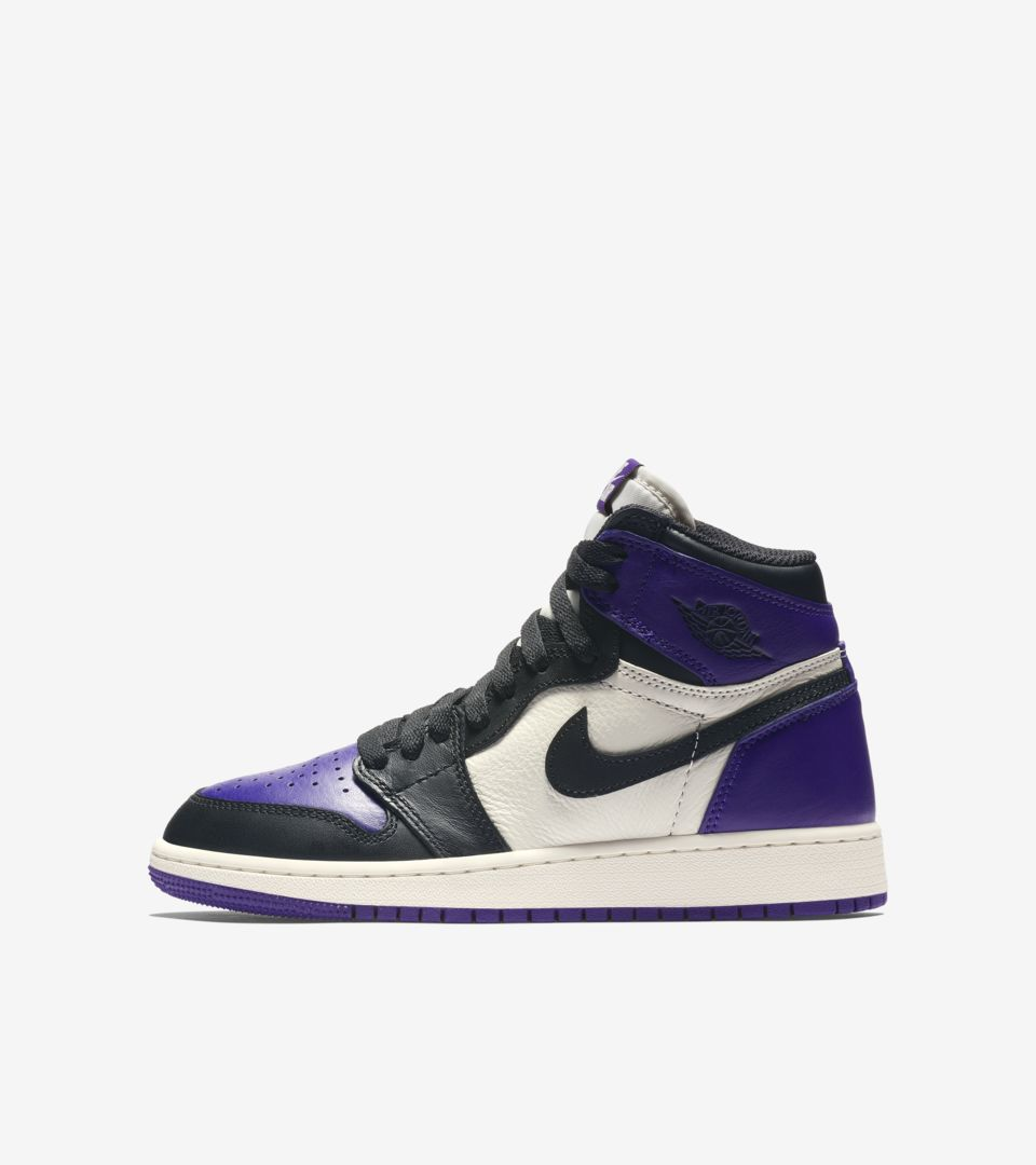 4205eb14e3dc Air Jordan 1 Retro  Court Purple  Release Date. Nike+ SNKRS