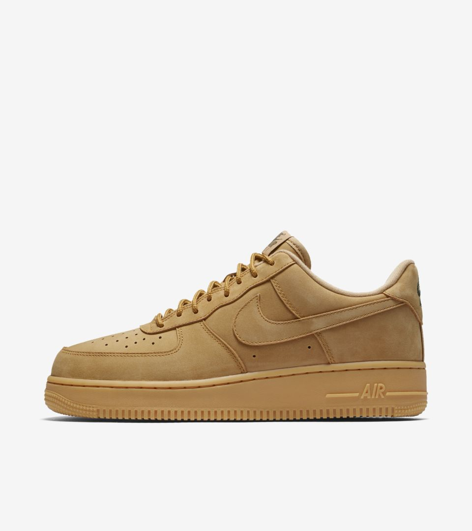 Nike Air Force 1 'Flax' Release Date. Nike+ SNKRS