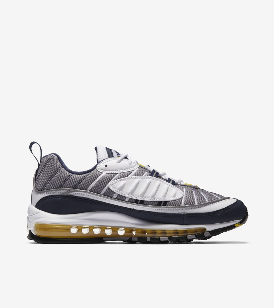 ace8a033b57d ... ireland nike air max 98 tour yellow midnight navy release date.  nikeu2060 snkrs aee1d 5bc3b