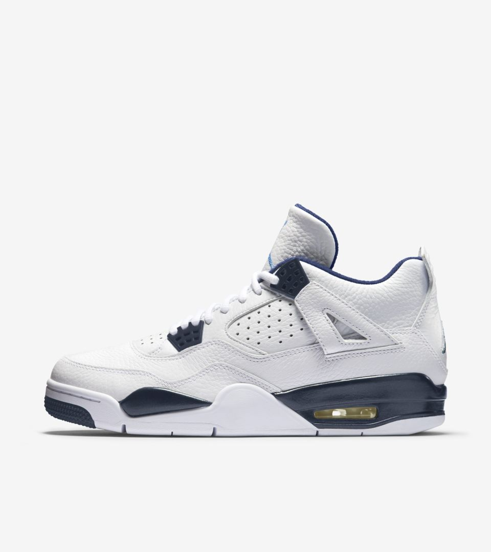 quality design f0cd7 38d0f Air Jordan 4 Retro  Legend Blue  Release Date. Nike+ SNKRS
