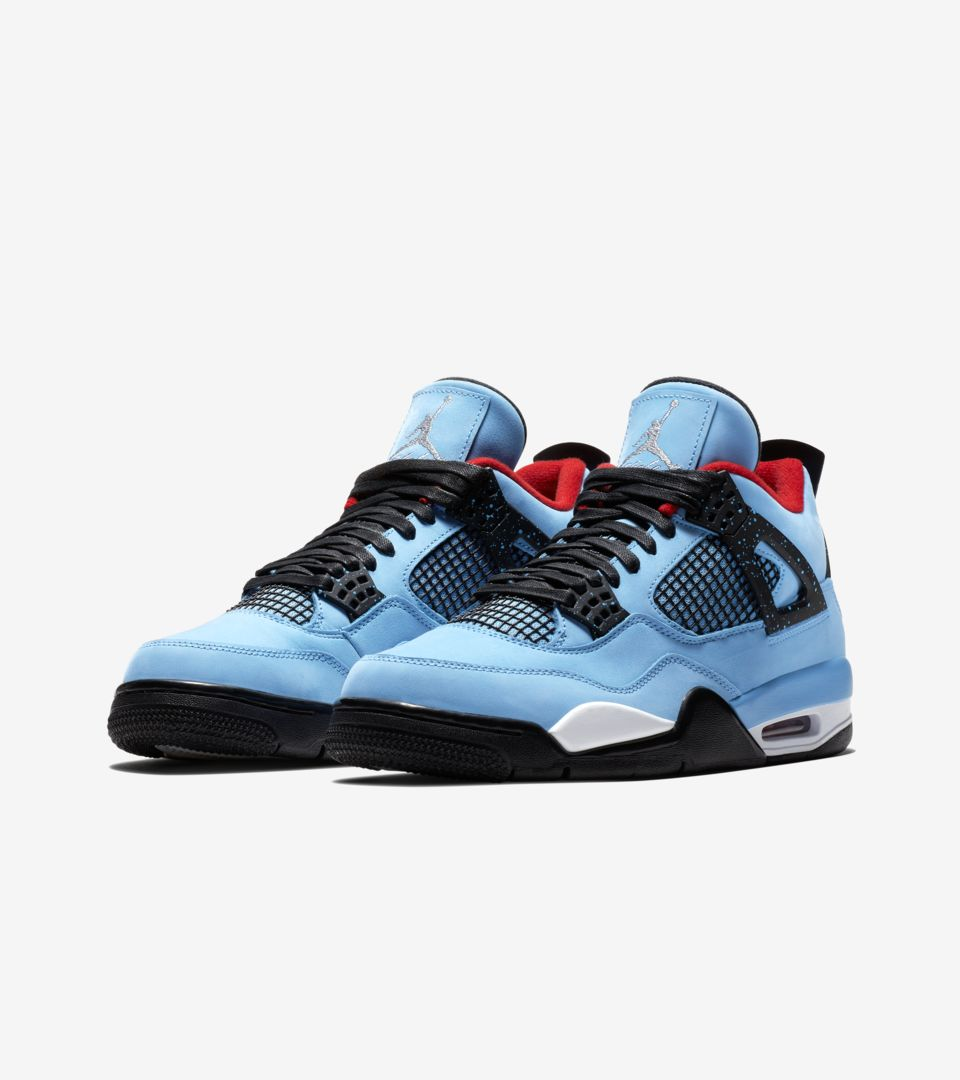 buy popular 6efca d075c Air Jordan 4 Travis Scott 'Cactus Jack' Release Date. Nike⁠+ ...