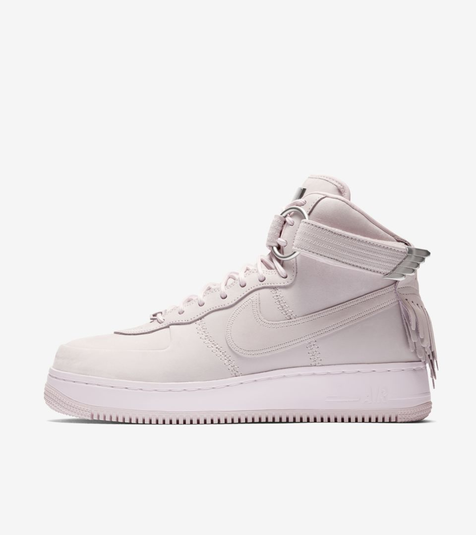 nike air force one high beige