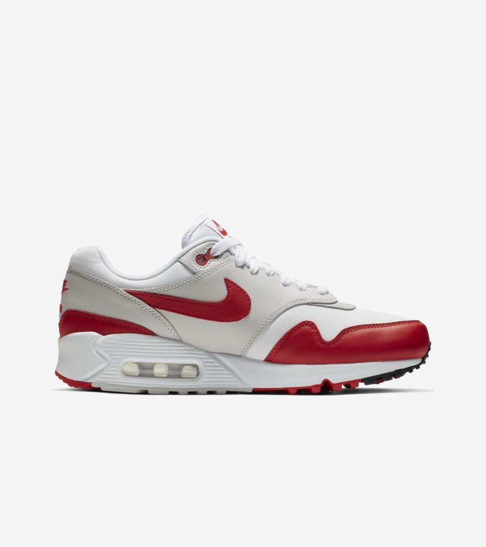 41ee99af Women's Air Max 90/1 'White & University Red' Release Date. Nike ...