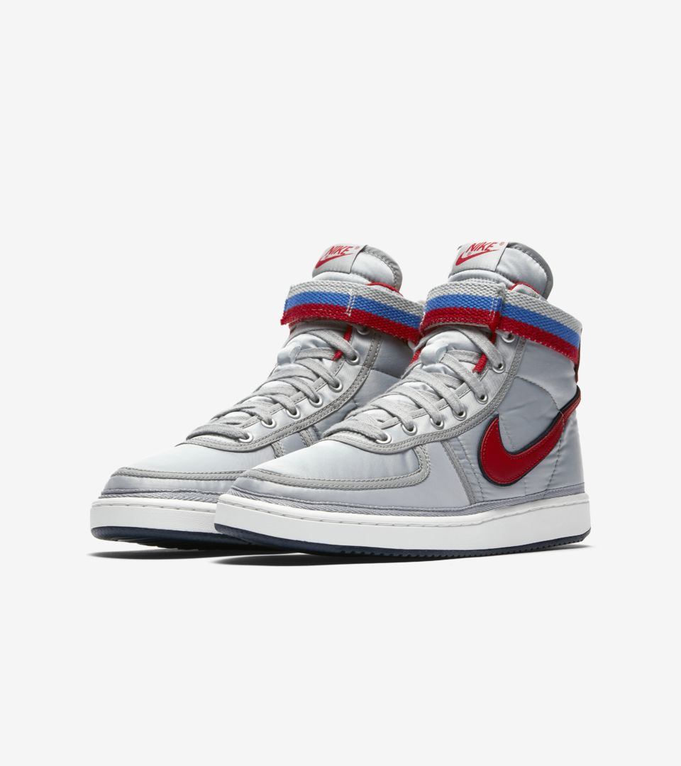 new arrival 2a5bf b6d4b Nike Vandal High  Metallic Silver   University Red  Release Date ...