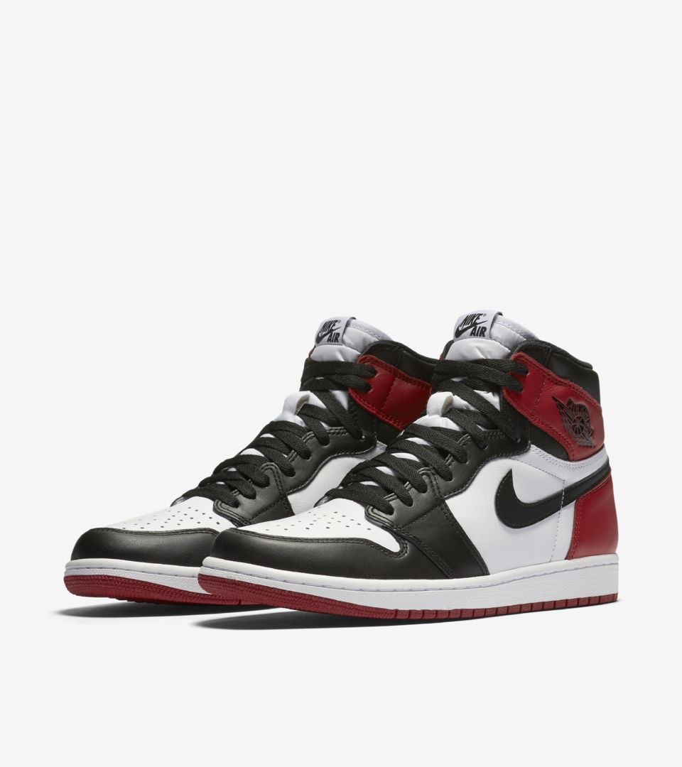 size 40 2baa1 d3bf5 BLACK TOE.  160. AIR JORDAN I ...