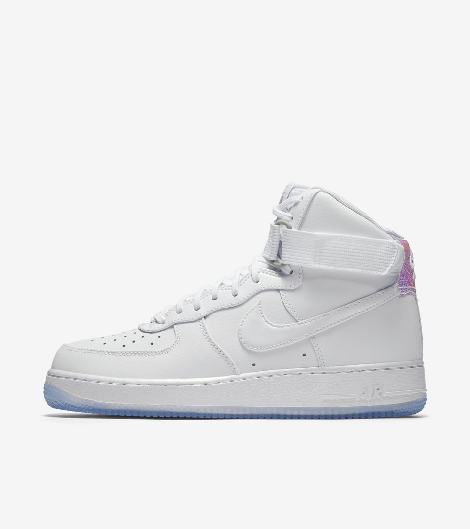 Women S Nike Air Force 1 Hi Iridescent Nike Snkrs
