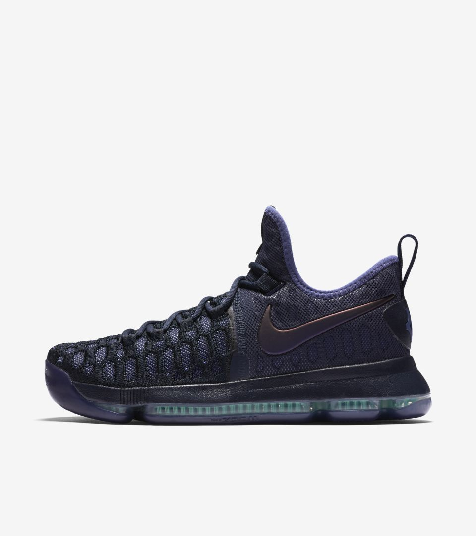 sports shoes 645eb d959b Nike Zoom KD 9 'Obsidian & Black' Release Date. Nike⁠+ SNKRS