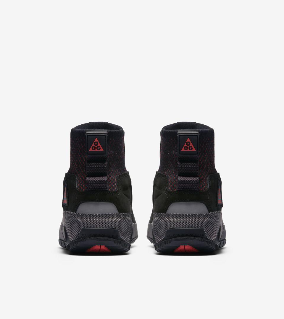 Nike ACG Ruckel Ridge 'Black & Geode Teal & Habanero Red' Release Date