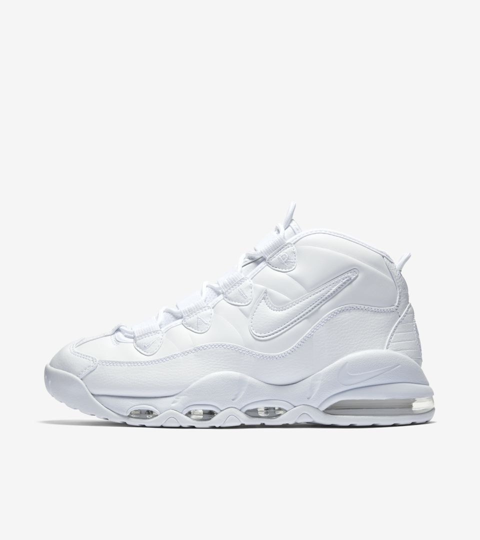 f3a03969031454 Nike Air Max Uptempo 95  White on White  Release Date. Nike+ SNKRS