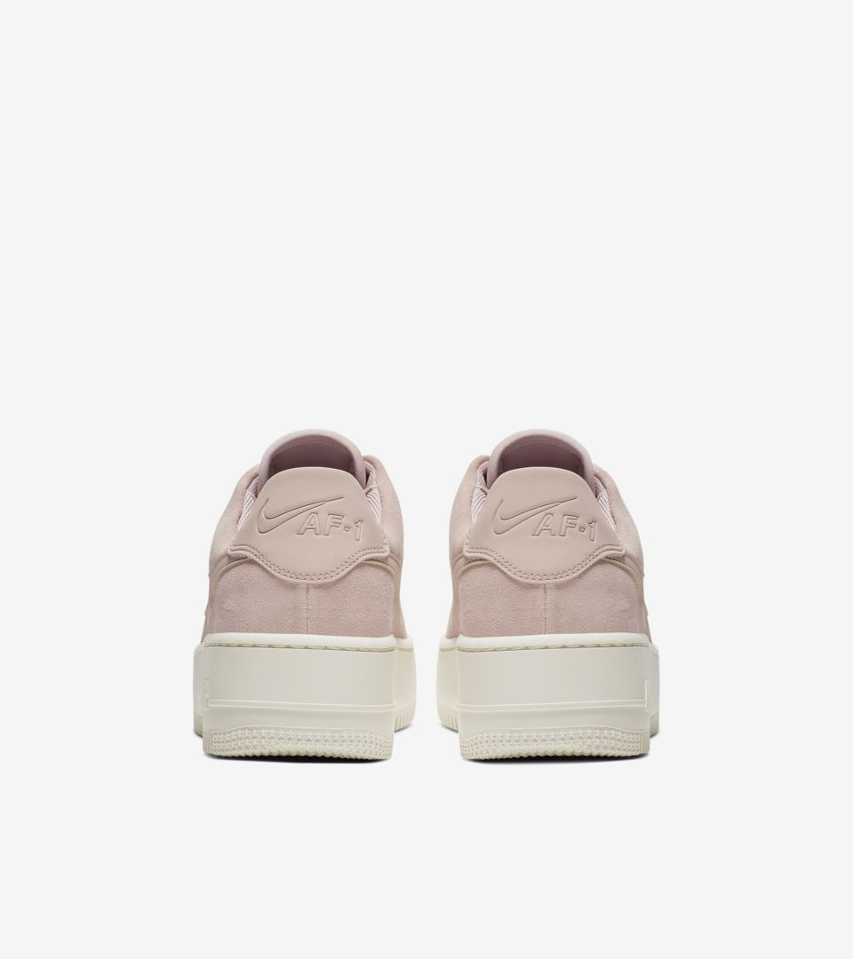 3a3bd88b3 ... Nike Women s Air Force 1 Sage Low  Particle Beige   Phantom  Release  Date