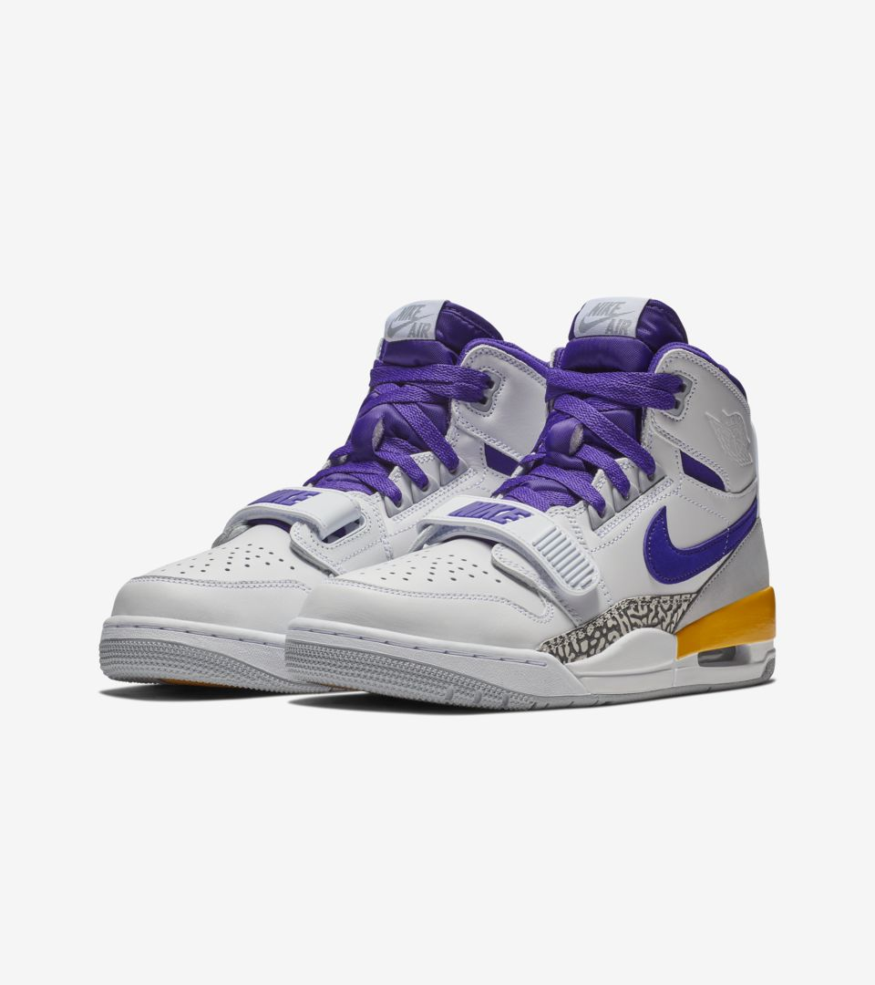 Air Jordan Legacy 312  Field Purple   Amarillo   White  Release Date ... 0199c0af7