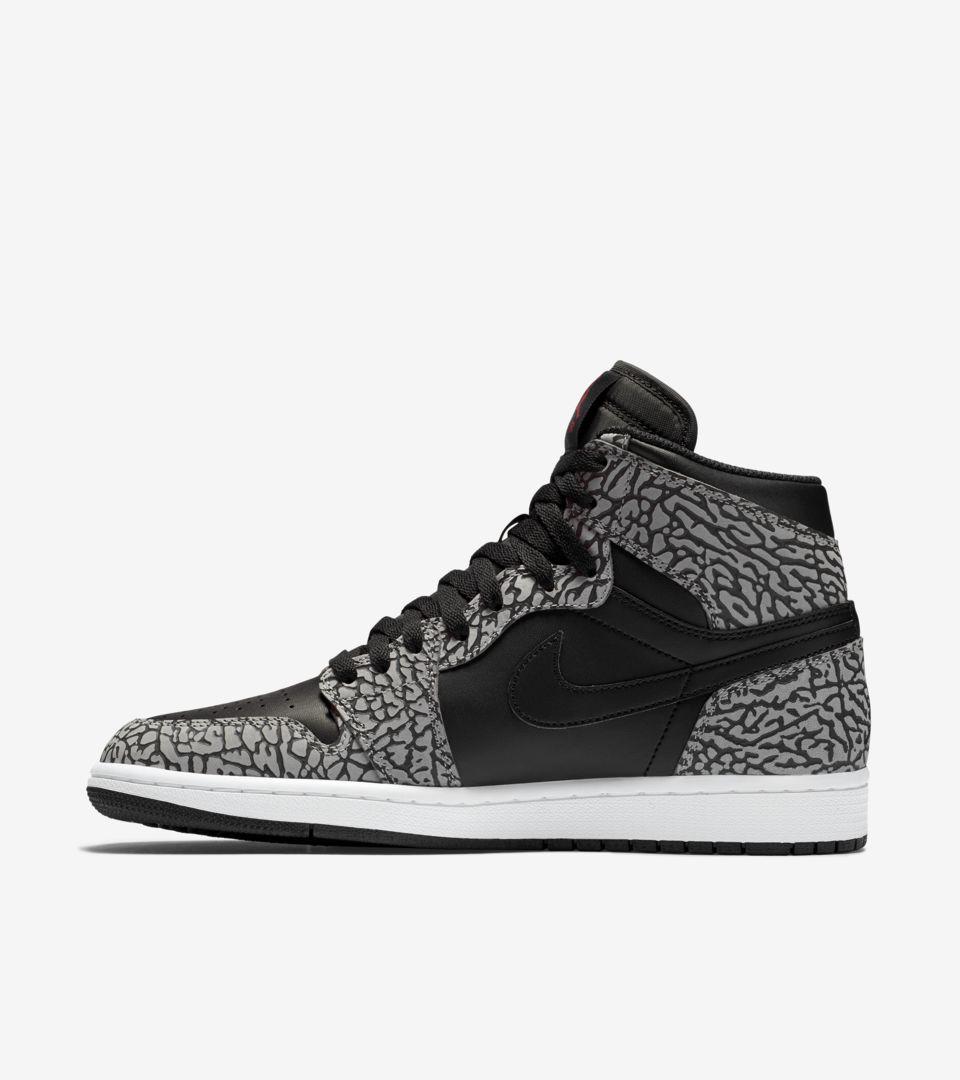 Air Jordan 1 Retro  Black Cement Grey  Release Date. Nike+ SNKRS 2ee78d2e3f5d