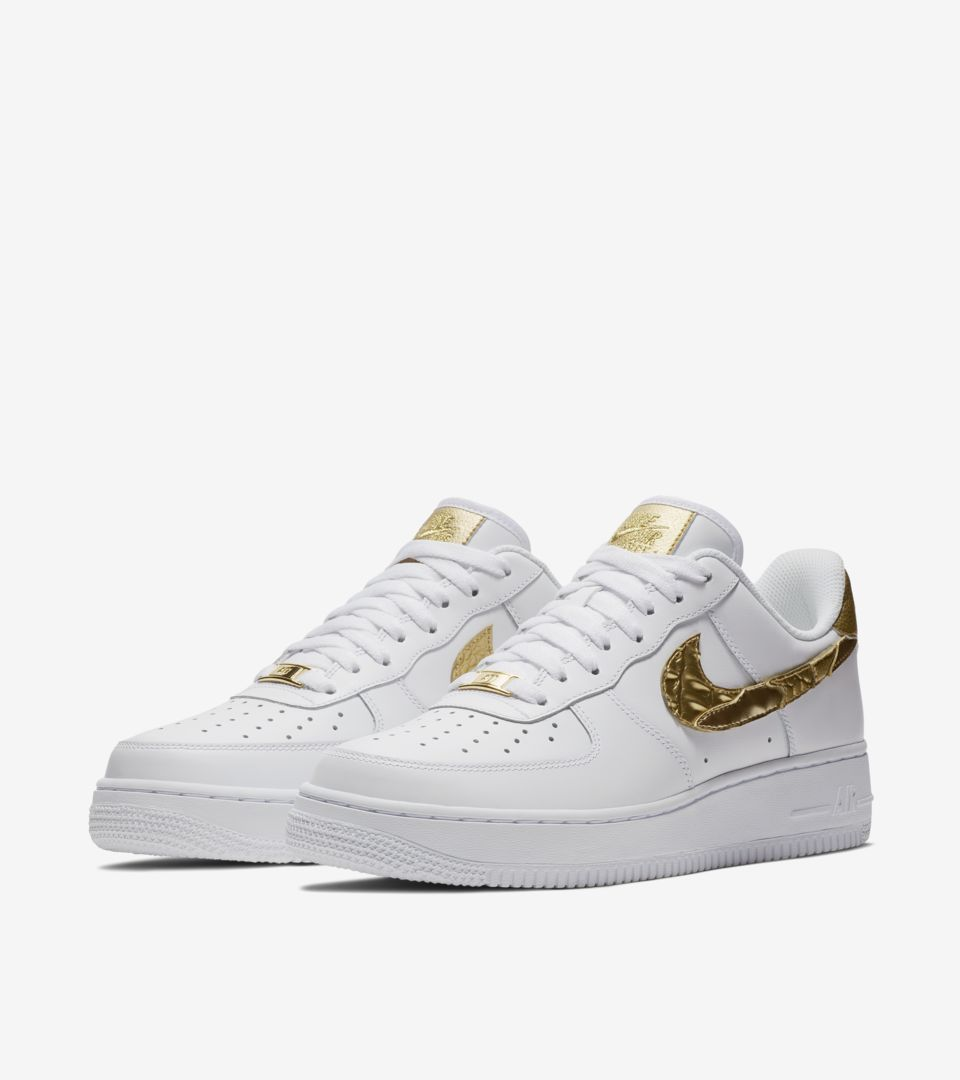 Nike Air Force 1 CR7 'Golden Patchwork' Release Date. Nike SNKRS