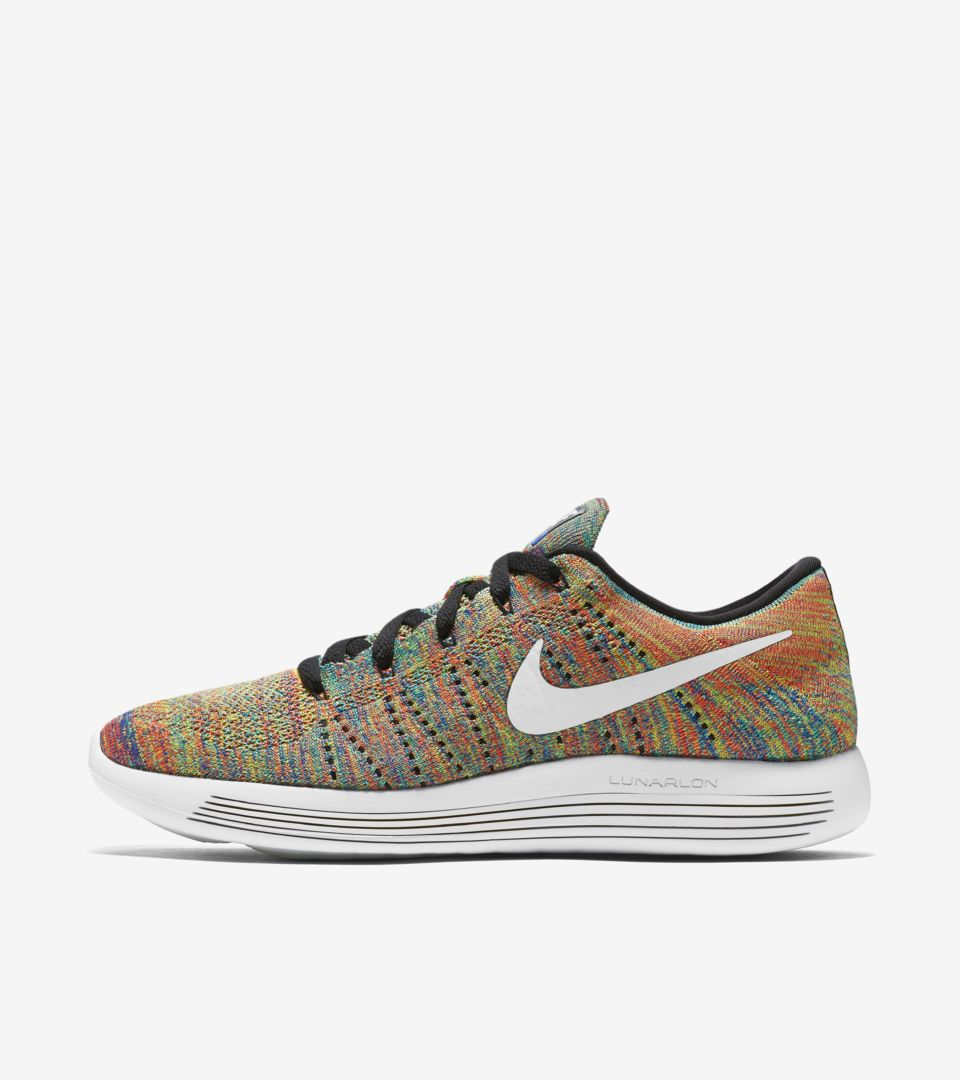Nike LunarEpic Low Flyknit  Multi-Color  Release Date. Nike⁠+ SNKRS 4388310f7142