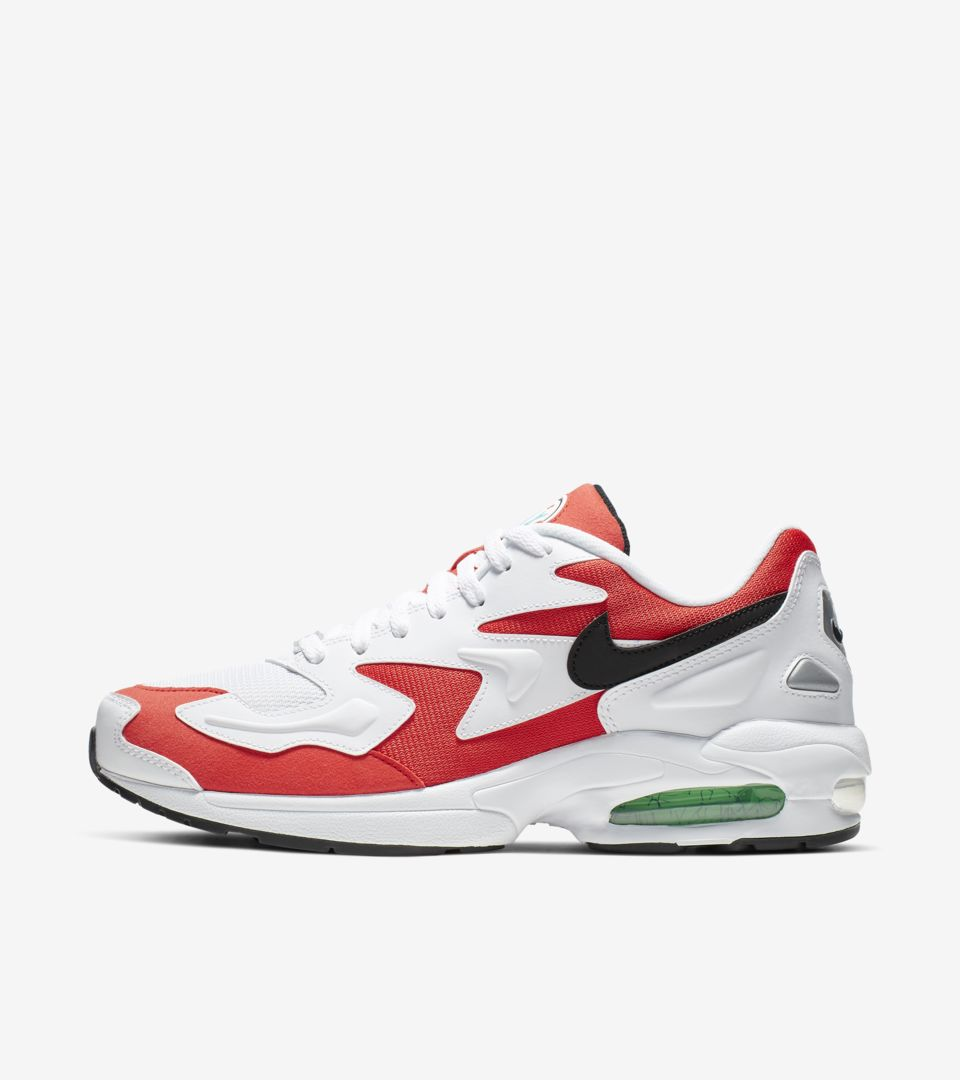 Nike Air Max2 Light 'Habanero Red' Release Date