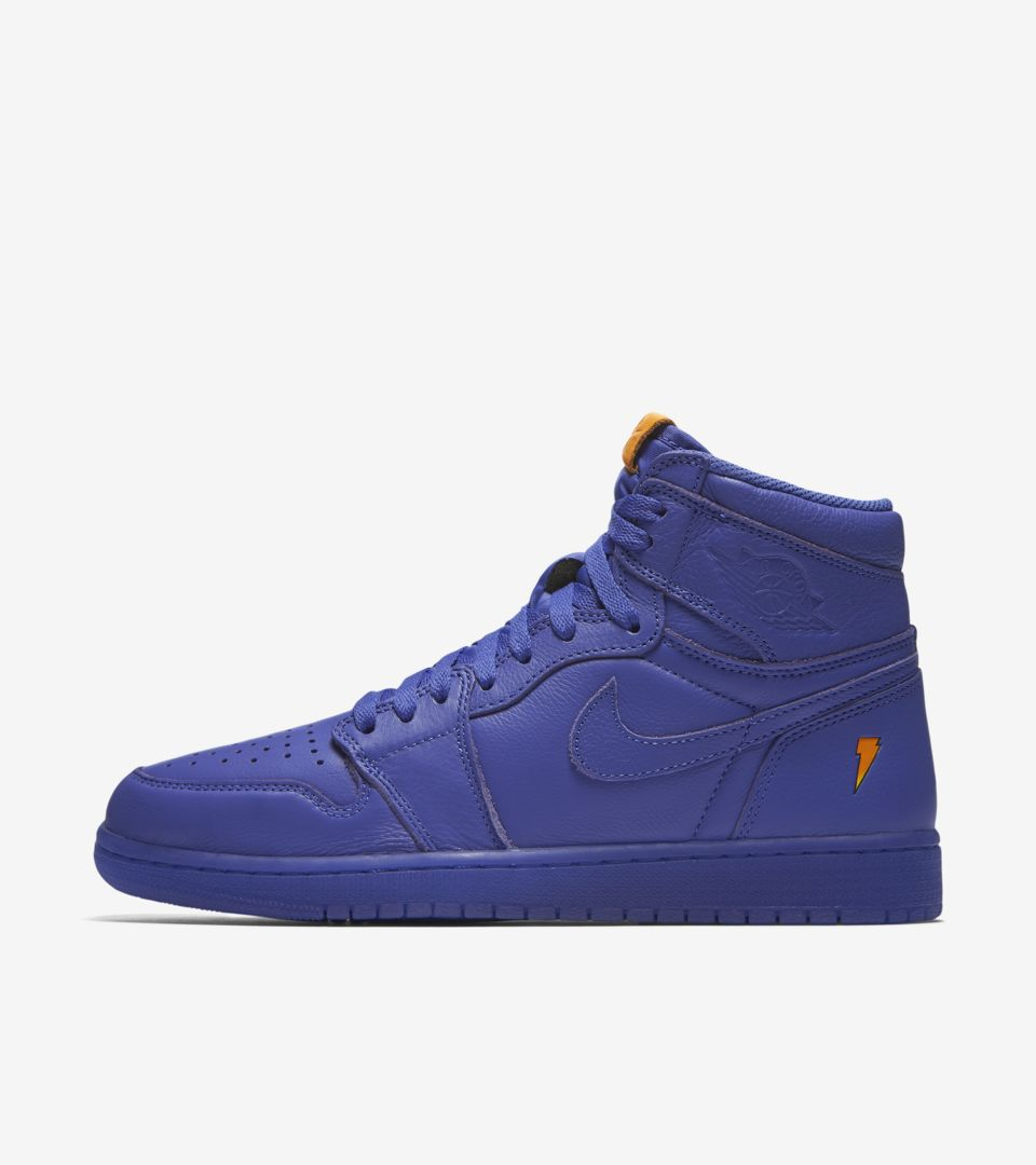 0ca6ac06b6b88c Air Jordan 1 High Gatorade  Grape  Release Date. Nike⁠+ SNKRS