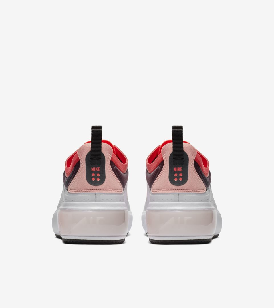 Nike Air Max Dia 'Off White & White & Flash Crimson & Black' Release Date.