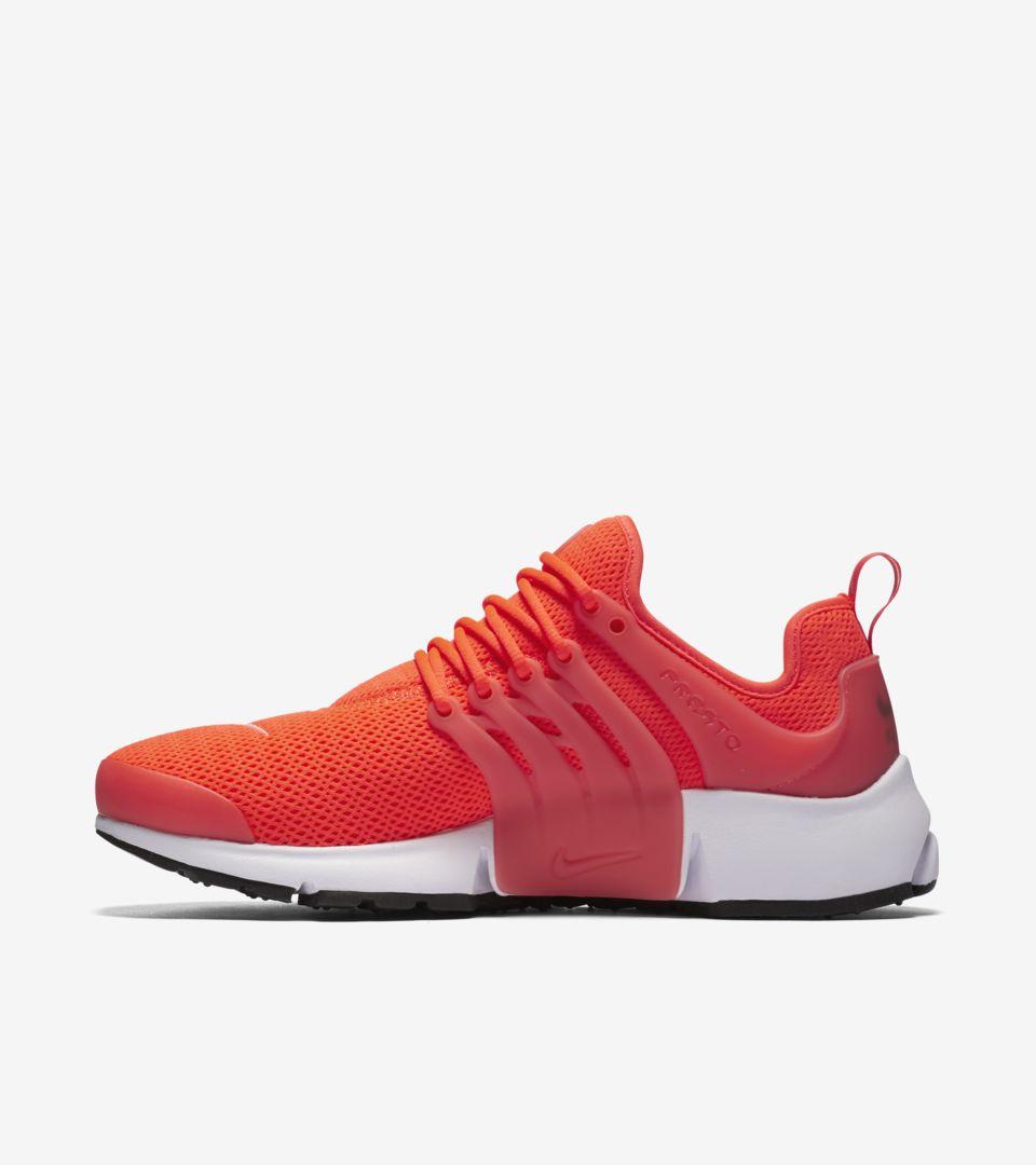 0789b8978d09 womens nike air presto red orange