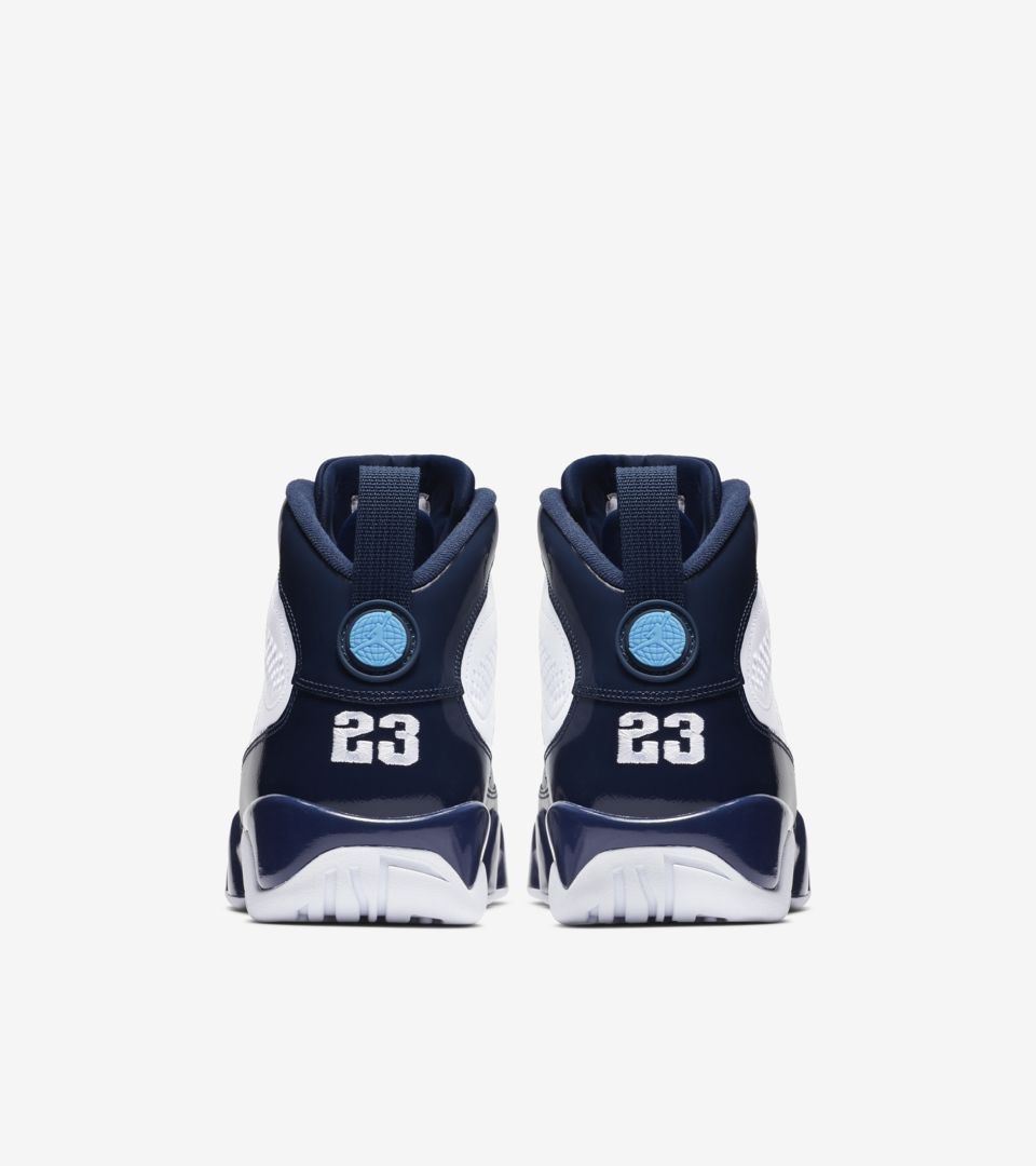new product b5b6b e68cc Air Jordan 9 Retro UNC  Midnight Navy  Release Date