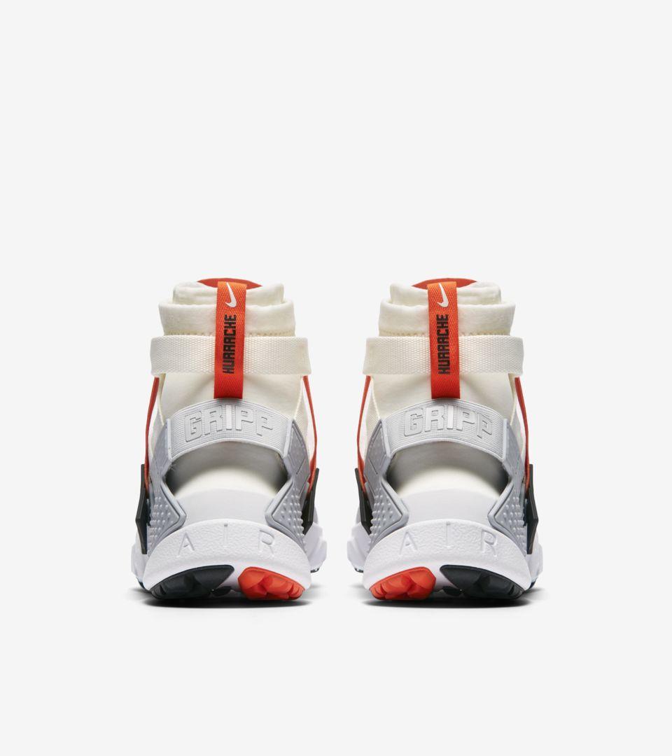 finest selection 6615f 66f65 ... Release Date Nike Air Huarache Gripp  Sail   Team Orange   Wolf Grey   ...