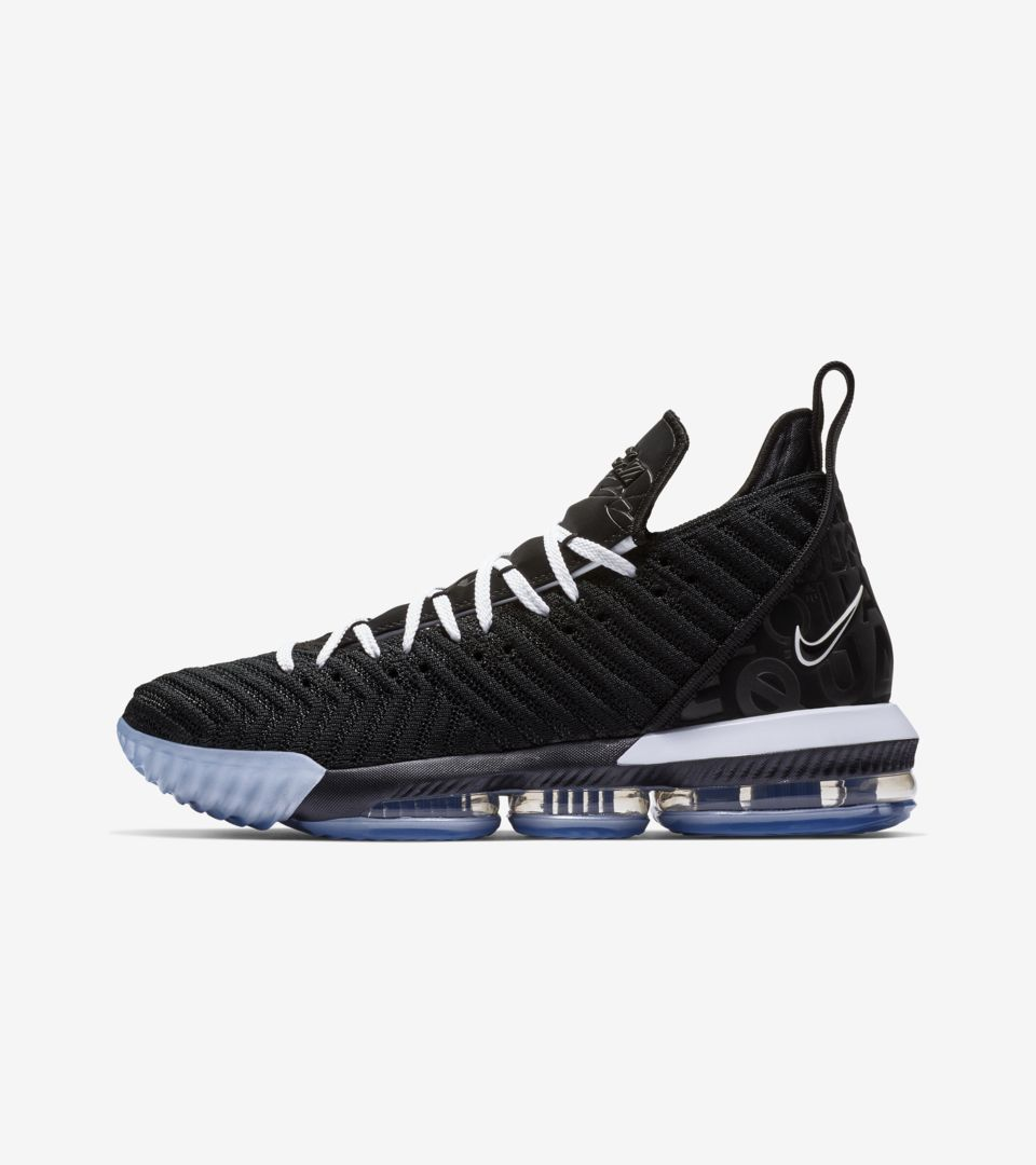 buy online dc438 dc6f4 Lebron 16 Equality 2019 'Black & White' Release Date. Nike+ ...