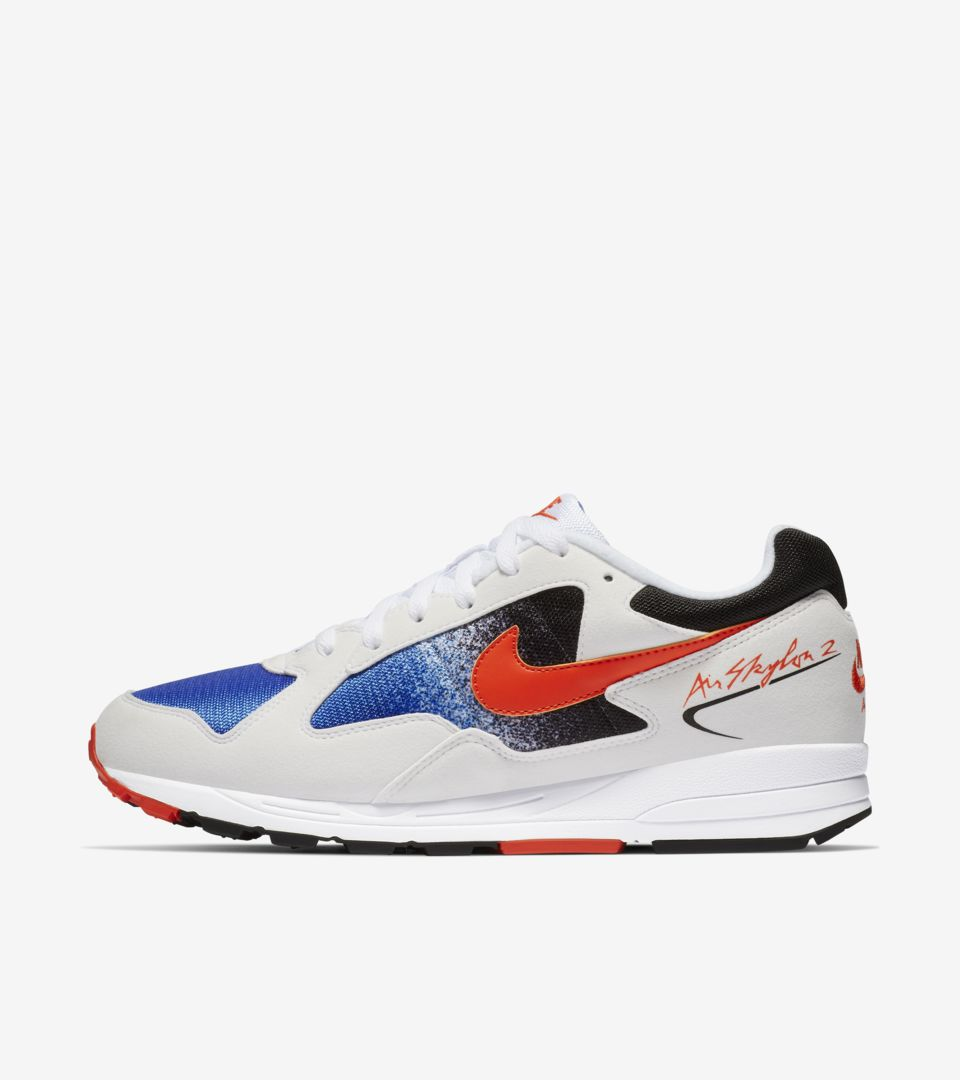 Nike Air Skylon 2 'Royal Blue & White & Team Orange' Release Date