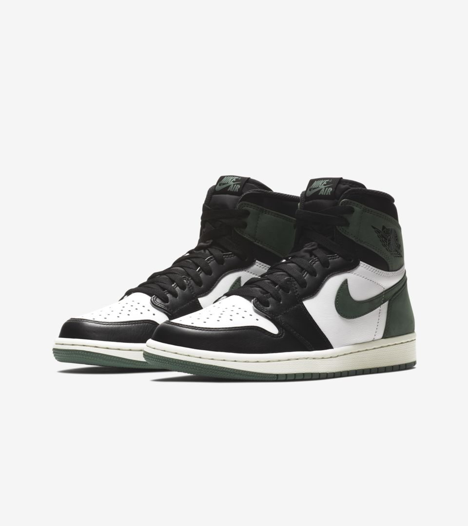 Air Jordan 1  Summit White   Clay Green   Black  Release Date. Nike+ SNKRS fbaaa33f4