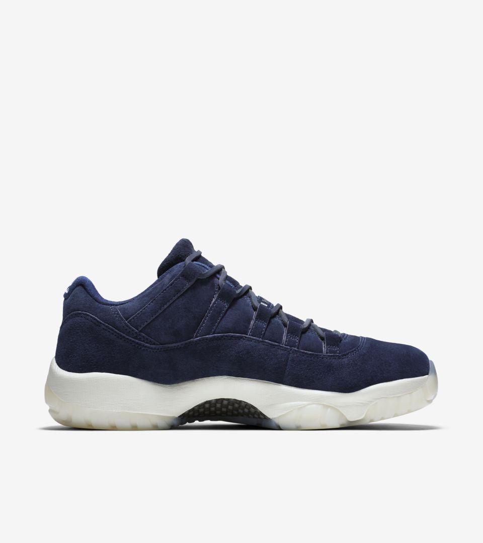 on sale a8262 88d0c Air Jordan 11 Low 'Binary Blue' Release Date. Nike+ SNKRS