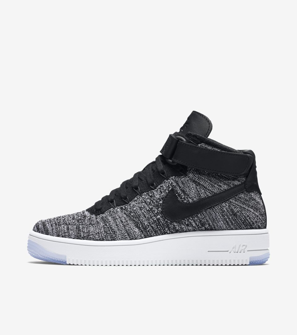 Women's Nike Air Force 1 Ultra Flyknit 'Black & White