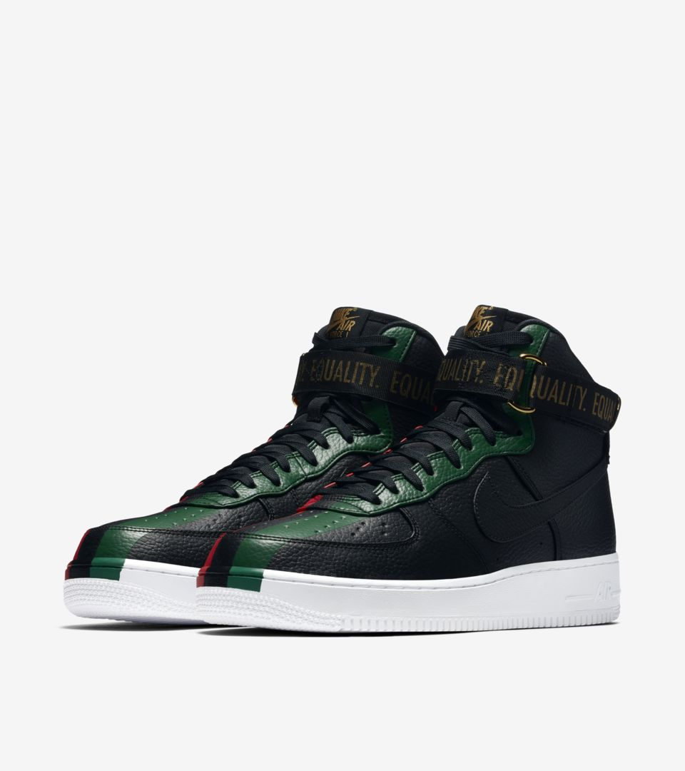 Nike Air Force 1 High 'BHM' 2018 Release Date. Nike SNKRS