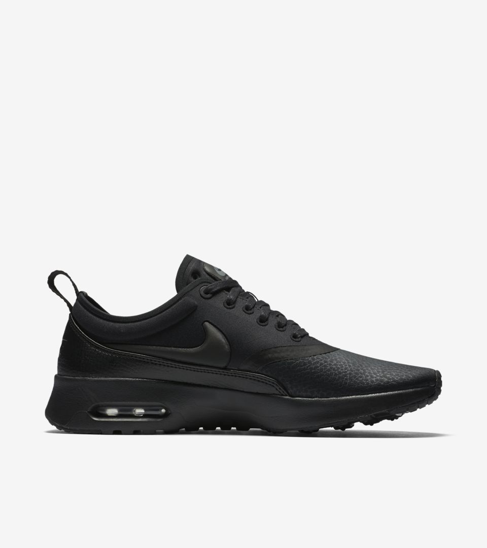 0b54f0b084 Women's Nike Air Max Thea Ultra Premium 'Triple Black'. Nike⁠+ SNKRS