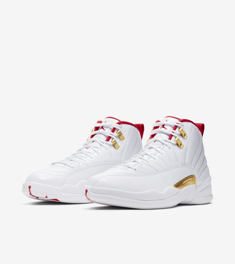 Air Jordan Xii White University Red Release Date Nike Snkrs